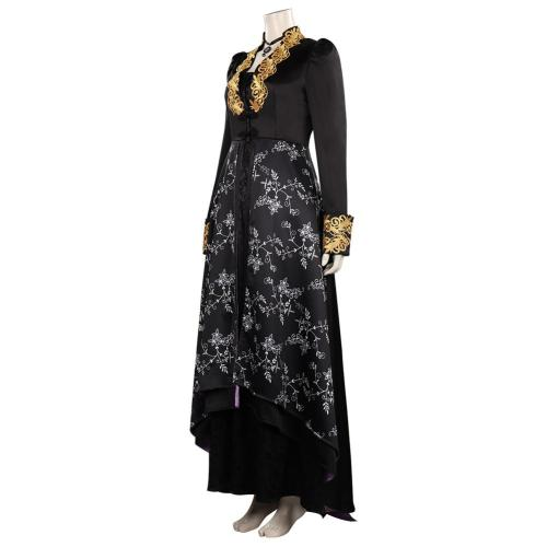 The Witcher Yennefer Cosplay Kostüm Outfits Halloween Karneval Set