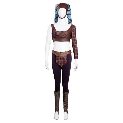 Star Wars Aayla Secura Cosplay Kostüme Halloween Karneval Set