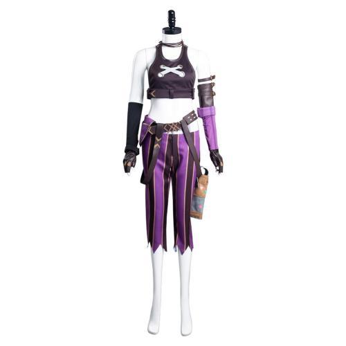 League of Legends LoL Jinx Cosplay Kostüme Uniformen Outfits Halloween Karneval Set