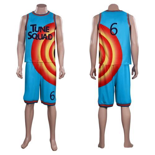 Space Jam: A New Legacy LeBron James Cosplay Kostüme Halloween Karneval Outfits
