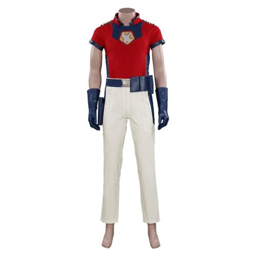 The Suicide Squad Peacemaker Cosplay Kostüm Halloween Karneval Outfits