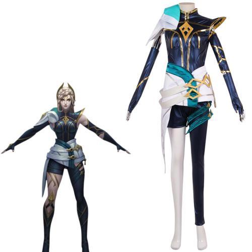 LoL Irelia The Blade Dancer Cosplay Kostüm Halloween Karneval Outfits