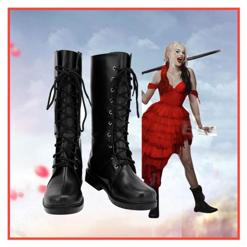 The Suicide Squad Harley Quinn Schuhe Cosplay Schuhe