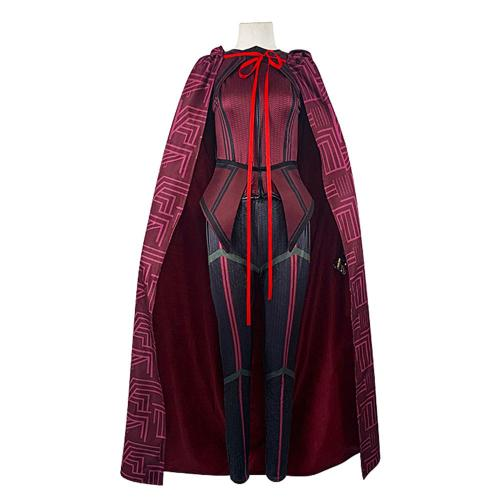 Wanda Vision Scarlet Witch Cosplay Kostüme Halloween Karneval Outfits