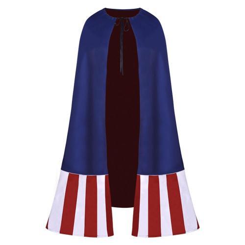 WHAT IF Captain America Cosplay Kostüme Cloak Halloween Karneval Umhang