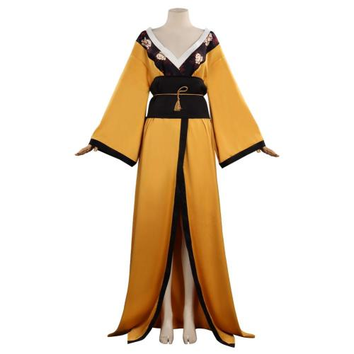 The Witcher 3: Wild Hunt Ciri Cosplay Kostüm Kimono Halloween Karneval Outfits