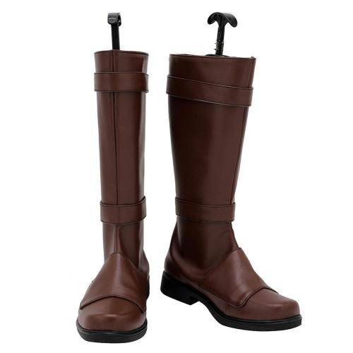 The Mandalorian Bo-Katan Cosplay Schuhe Stiefel