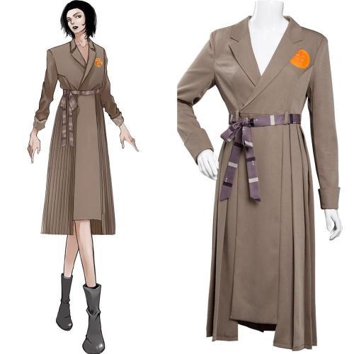 Loki TVA Time Variance Authority Cosplay Kostüm Outfits Halloween Karneval Kleid