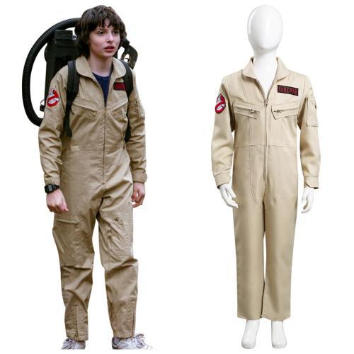 Kinder Ghostbusters Cosplay Kostüm Outfits Halloween Karneval Jumpsuit