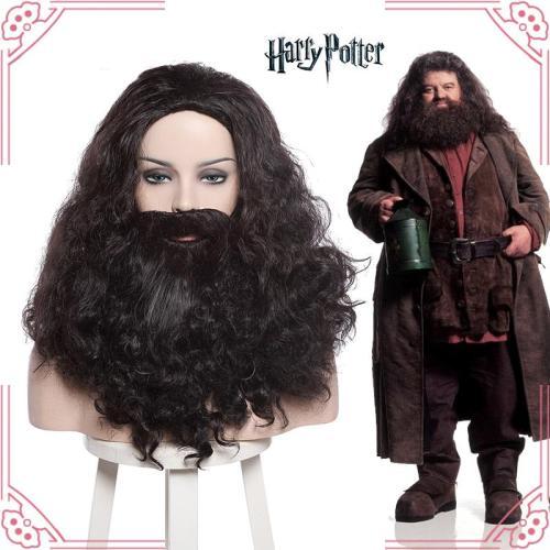Harry Potter Rubeus Hagrid Perücke Cosplay Perücke