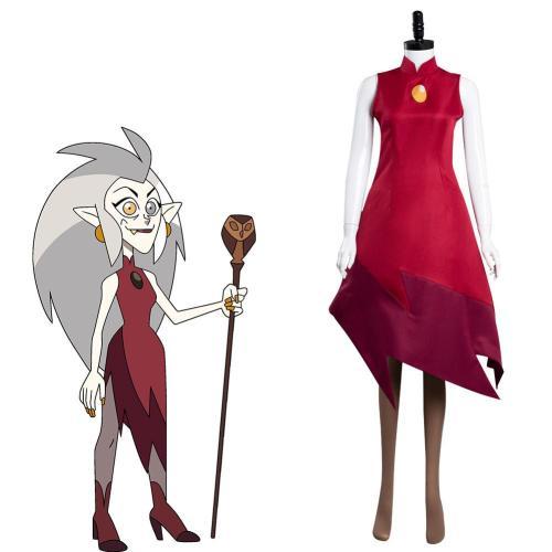 The Owl House Edalyn Clawthorne Cosplay Kostüm Outfits Halloween Karneval Kleid