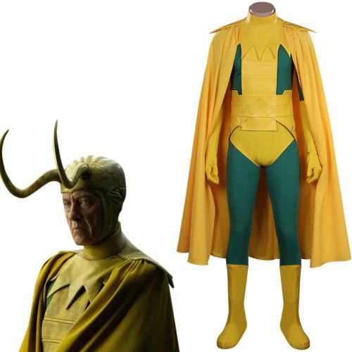 Loki Loki King Cosplay Kostüme Outfits Halloween Karneval Set