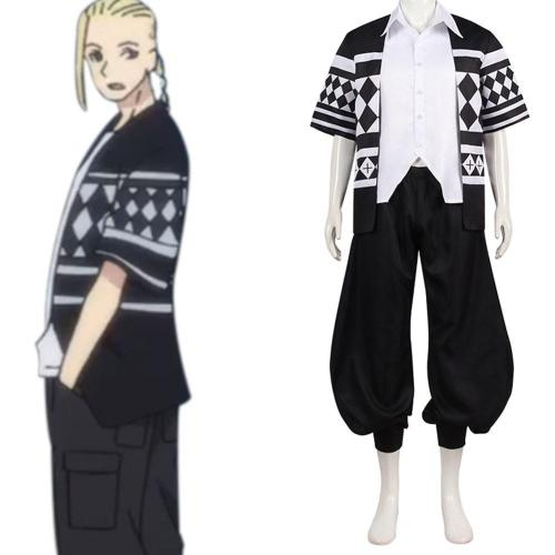 Ken Ryuguji Tokyo Revengers Cosplay Kostüme Halloween Karneval Outfits