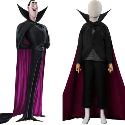Kinder Hotel Transylvania Dracula Cosplay Kostüme Halloween Karneval Outfits
