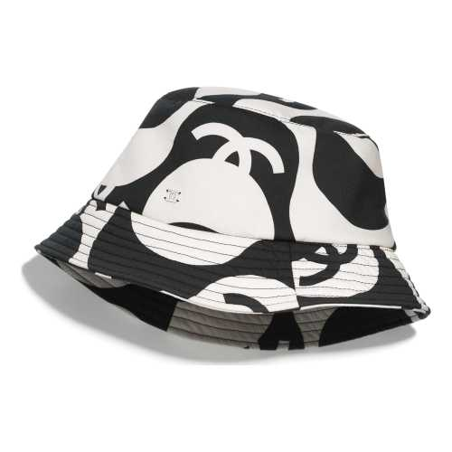 CHANEL Black & Ecru HAT
