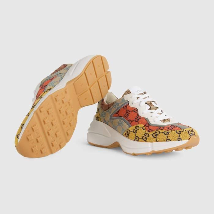 Men's Rhyton GG Multicolor sneaker
