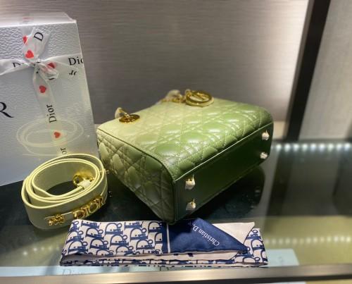 DIOR GREEN BAG