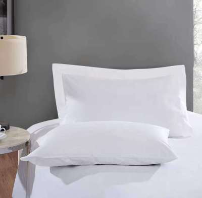 Leafbay 100% Cotton Hypoallergenic Pillow Protector Case - Queen, White
