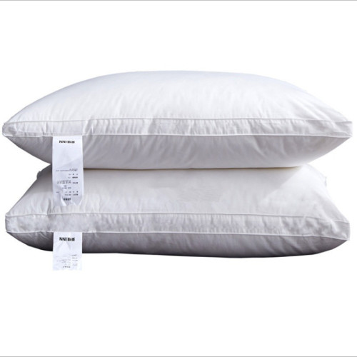 Coolzon Bed Pillows for Sleeping - 2 Pack Luxury Plush Pillows, 100% Cotton Cover and Super Soft Down Alternative Microfiber Filled Pillows, Standard Size, 20 x 26 inches, White