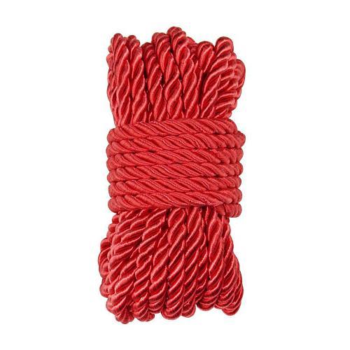 緊縛ロープ・縄 ナイロン製 10米 赤