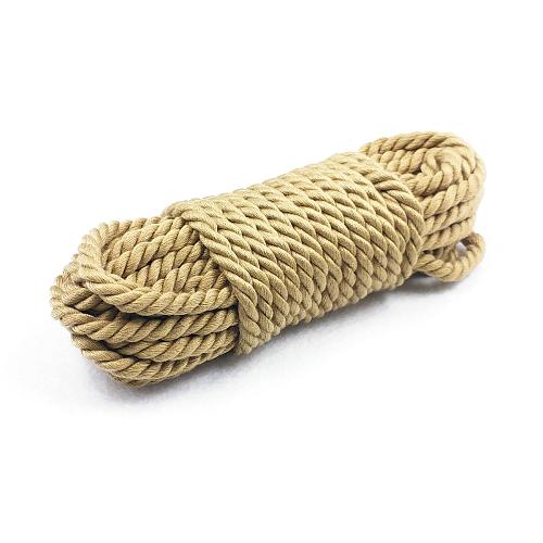 緊縛ロープ・縄 綿製 10米 ベージュ