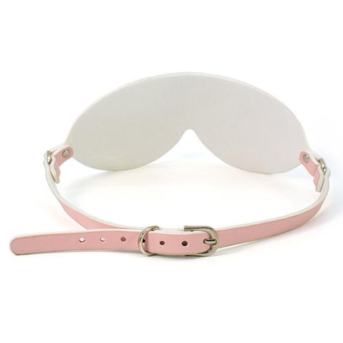 高級合成革 レギュラー目隠し ピンク