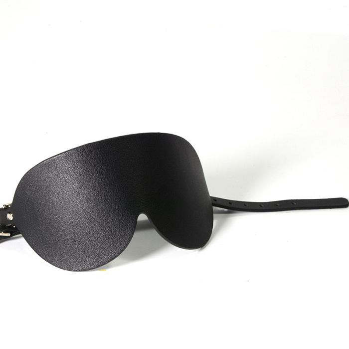 高級合成革 レギュラー目隠し ブラック