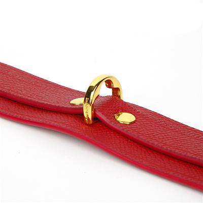Cardinal Red カージナルレッド 本革足枷
