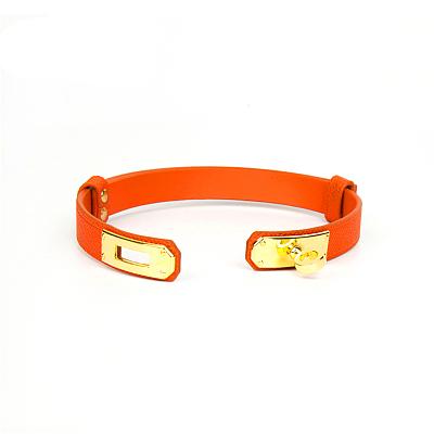 Sunny Orange サニーオレンジ SM本革拘束首輪