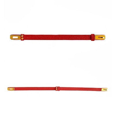 Cardinal Red カージナルレッド 本革首輪
