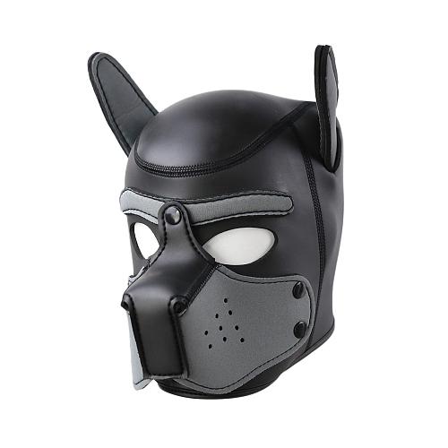 SMアニマル ドッグマスク グレー【取寄せ】