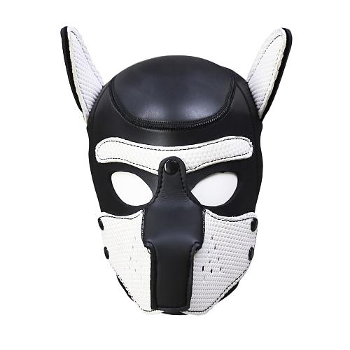 SMアニマル ドッグマスク ホワイト【取寄せ】