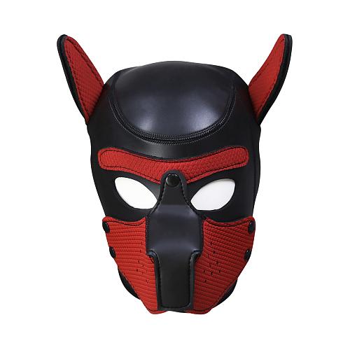 SMアニマル ドッグマスク レッド【取寄せ】