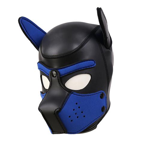 SMアニマル ドッグマスク ブルー【取寄せ】