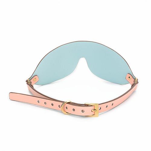 視界を奪われる拘束目隠し ピンクx水色【予約販売 10月11日出荷予定】