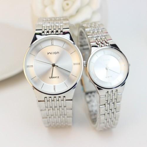 Ultra-thin couple business watch