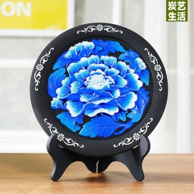 Carbon carving craft creative small ornaments