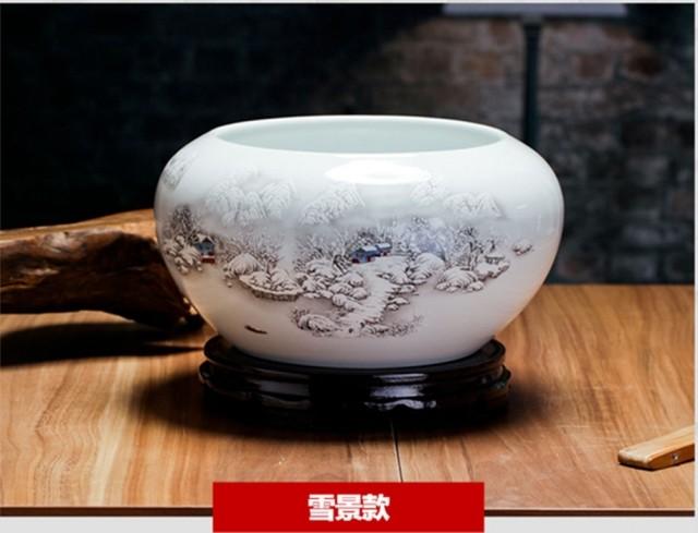 Jingdezhen ceramic fish tank
