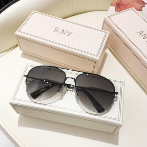 Cool half frame men's sunglasses