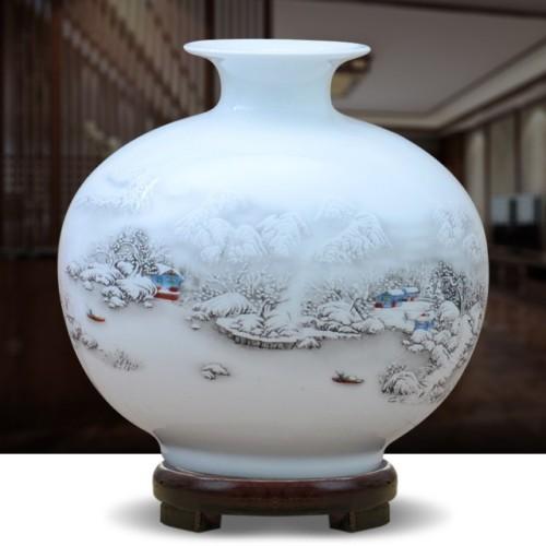 Modern Chinese Ceramic Vase Decoration
