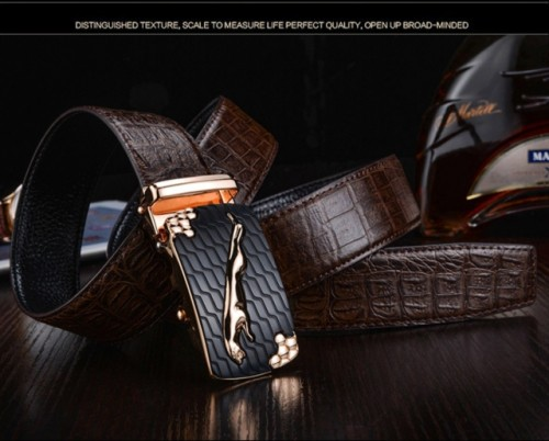 Business casual men's belt