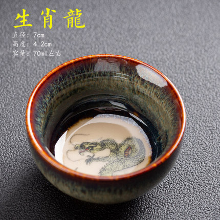 Chinese Zodiac Tea Cup