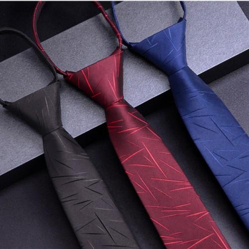 Zipper men's tie