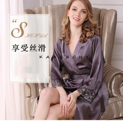 Kazixi silk hollow sling pajamas