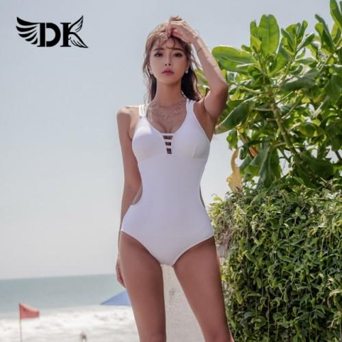 DK 2021 new swimsuit one-piece bikini