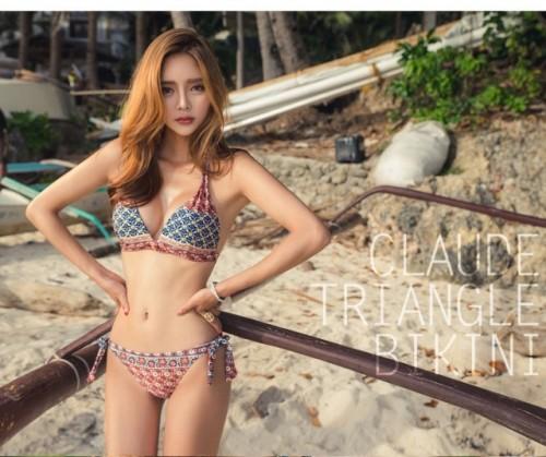 Vancdody sexy bikini national style swimsuit