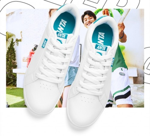 Anta white casual sports shoes