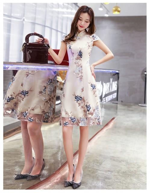 Feminine retro dress