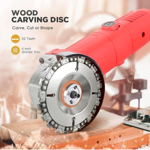 MKTEK™ Grinder Wood Carving Chain Disc