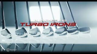 Launcher HB Turbo Iron Set w/ Graphite Shafts